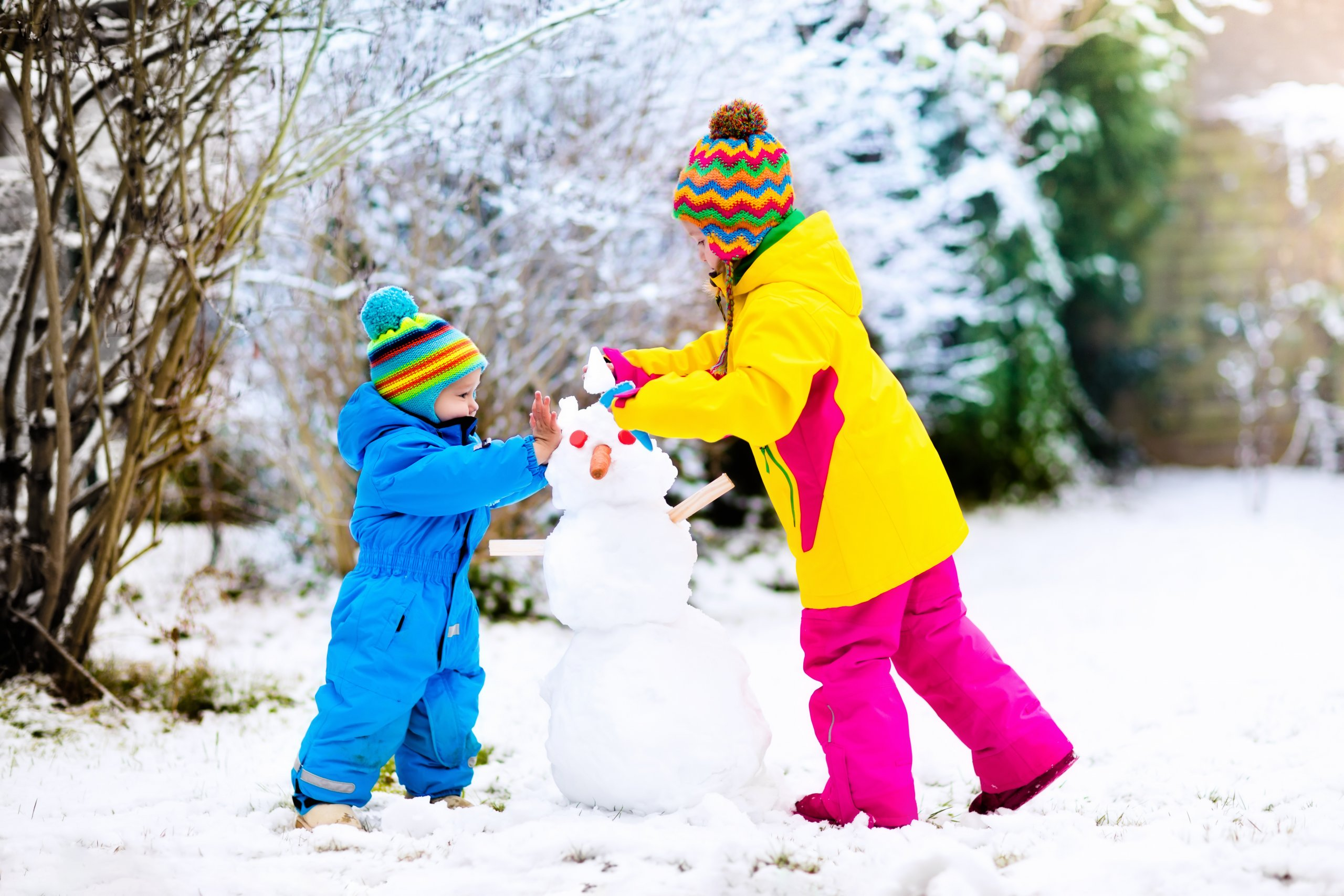 Dressing kids for the Winter Weather: With Adult ...