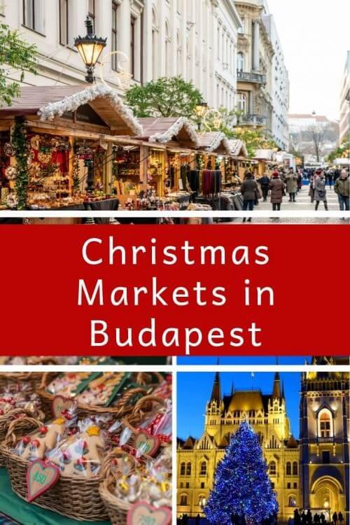 Vorosmarty Square Budapest Christmas Market.Budapest Christmas Markets Pack More Into Life