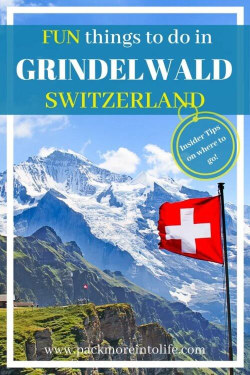 Things to Do in Grindelwald, Switzerland in Summer | Zip lining, mountain carts, trottibikes and toboggan rides are just some of the fun things to do in Grindelwald during summer. #travel #grindelwald #interlaken #switzerland