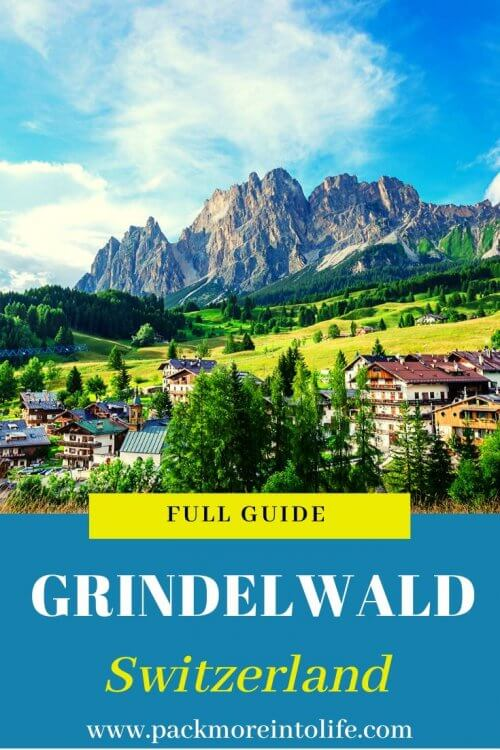 Head over to Grindelwald, the gateway to the Jungfrau Region, for a weekend filled with breathtaking views, beautiful towns, and memorable adventures using our guide to the best things to do in Grindelwald, Switzerland. #travel #switzerland #switzerlandtravel #grindelwald #travel