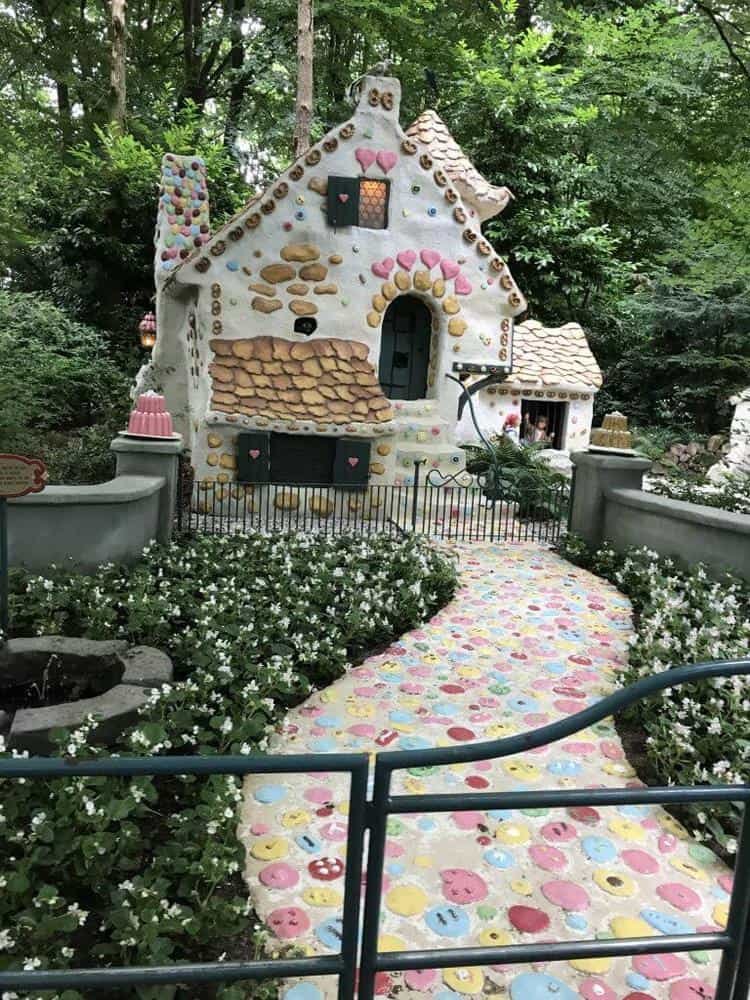 Efteling theme park in the Netherlands Fairytale Village