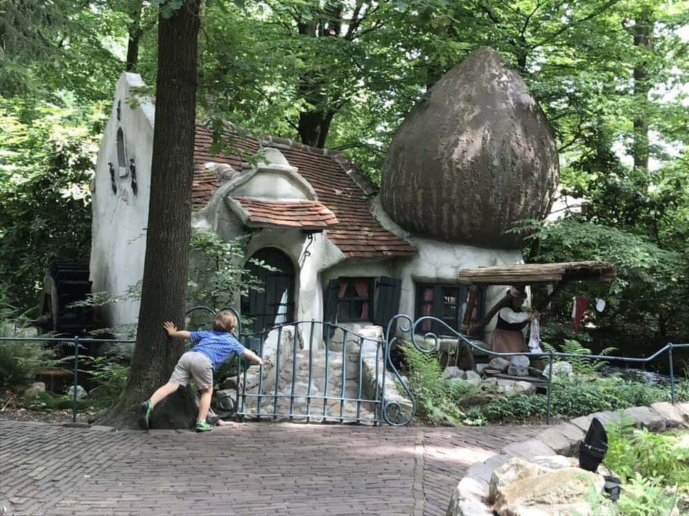 Efteling theme park in the Netherlands fairytale forest