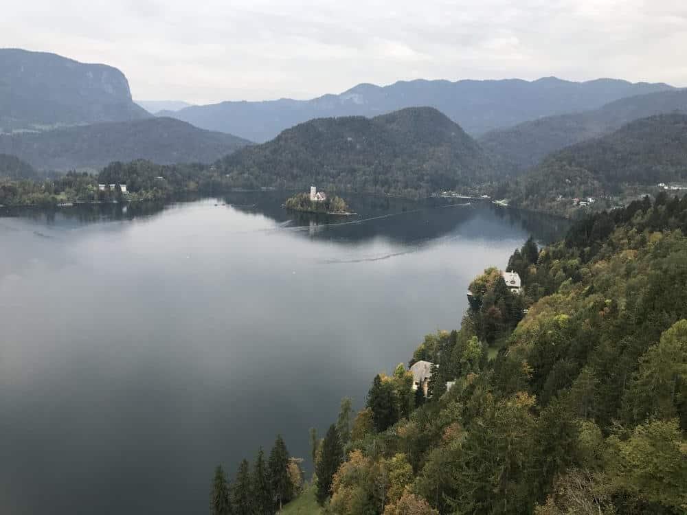 Lake Bled Castle Slovenia