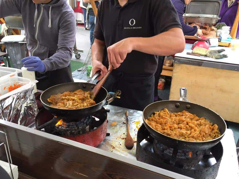 Ljubljana, Slovenia Open Food Market