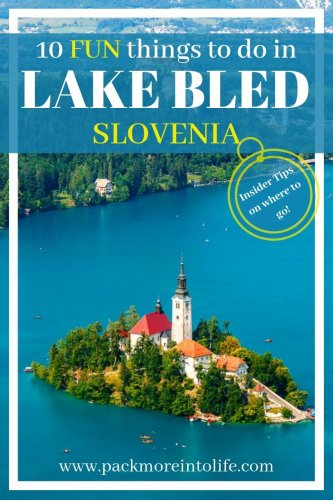 Lake Bled, a cute Slovenian town with great pulling power - a beautiful lake, church, and castle, there is so much to gush over with so many fun activities and things to do in Lake Bled, Slovenia. Visit the famous Lake Bled + other things to do in Bled, Slovenia. Day trip from Ljubljana to Bled. Lake Bled Summer. Bled Castle. Europe Bucket List. #travel #slovenia #lakebled #visitslovenia