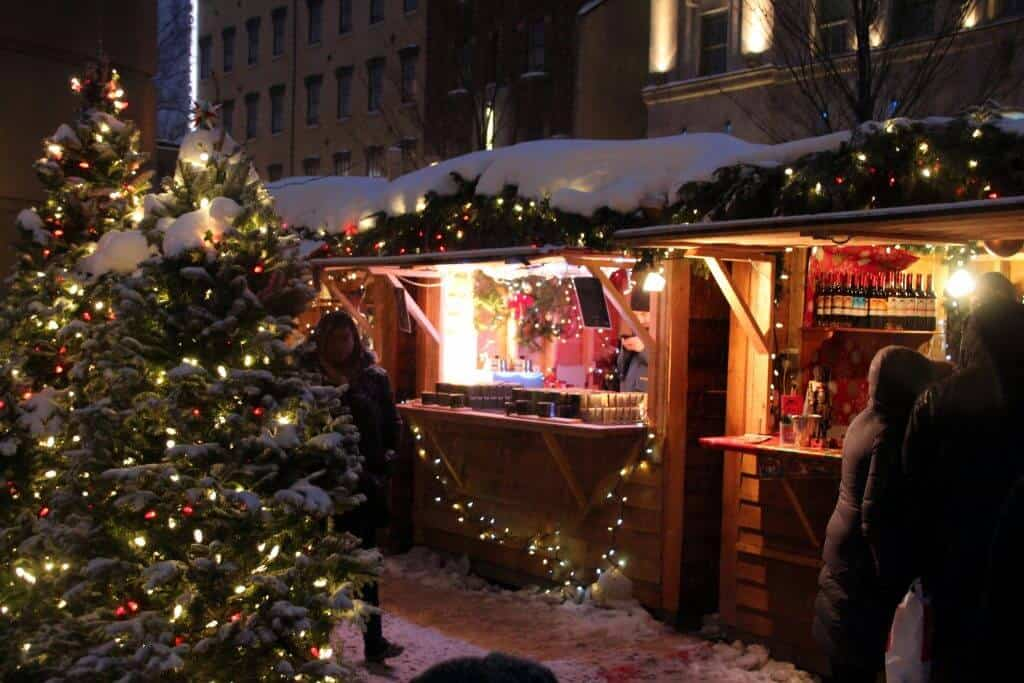 Old Quebec City Christmas Market.Winter Wonderland In Quebec City With Kids Pack More Into Life