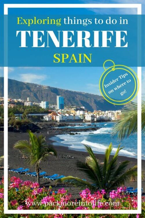 Wondering what to do in Tenerife while you're on vacation? I'll share the best things to do in Tenerife along with a five day itinerary to help with your planning. This list of top things to do in Tenerife includes outdoor activities, local markets, waterparks and national parks. #tenerife #canaryislands #spain #travel