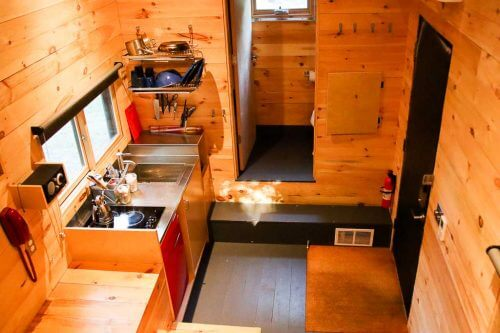Interior Cabin View of the Getaway House DC