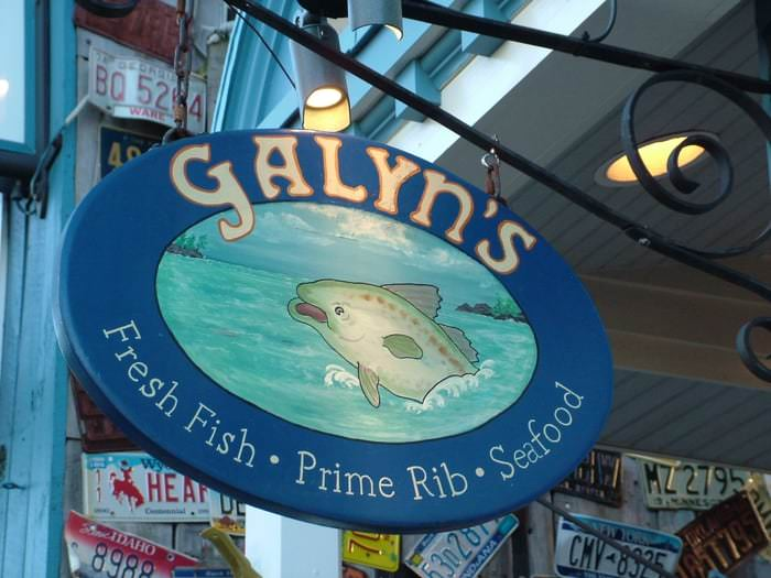 Galyn's is one of the top restaurants in Bar Harbor, Maine.