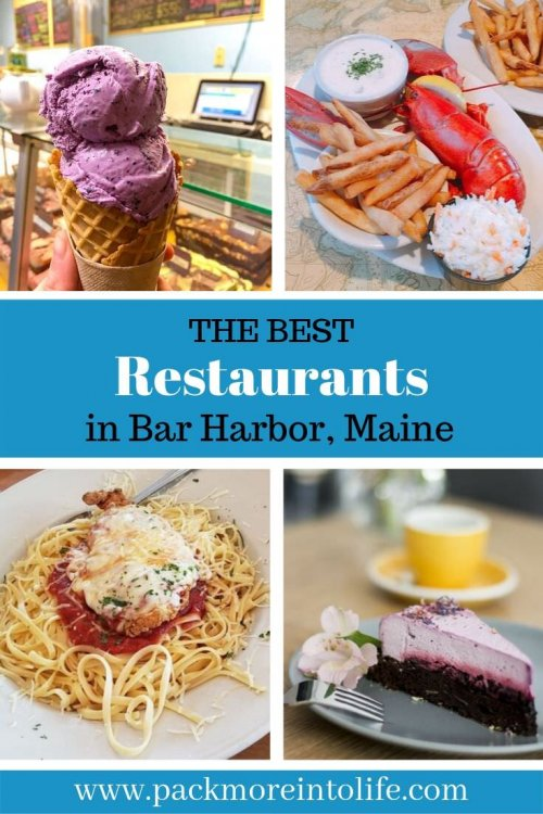 Want to know where the best place to eat in Bar Harbor , Maine are? Let me share with you the best restaurants in Bar Harbor that I found while visiting there! From the best ice cream shops, waterfront restaurants and the best places to find seafood! I've got it all and more! #travel #maine #barharborrestaurants