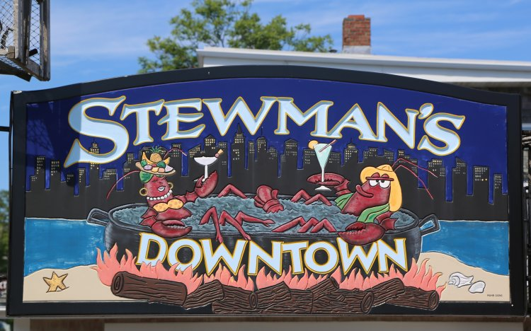 Stewman's Lobster Pound is one of the lobster restaurants in Bar Harbor Maine.