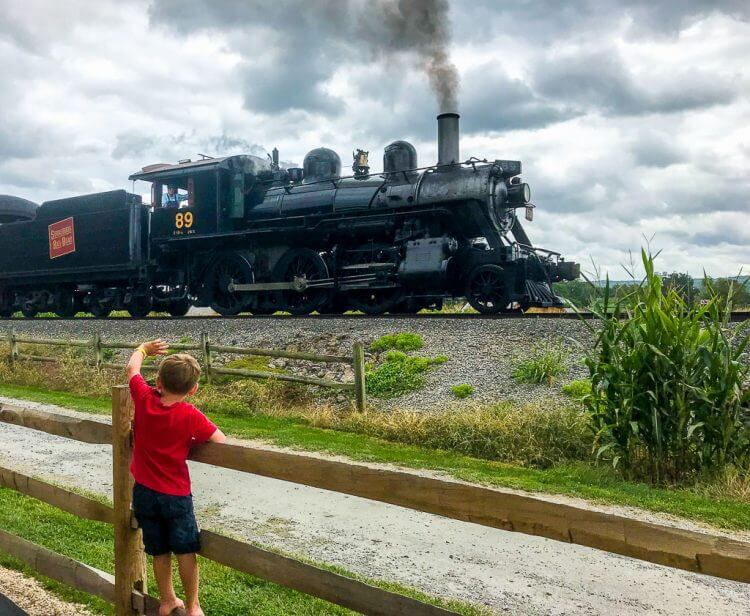 Visit the Strasburg Railway | Lancaster PA things to do family