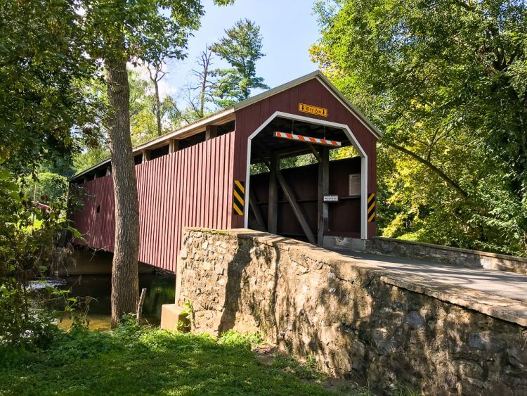 Looking for Lancaster PA things to do family? Check out the beautiful covered bridges!