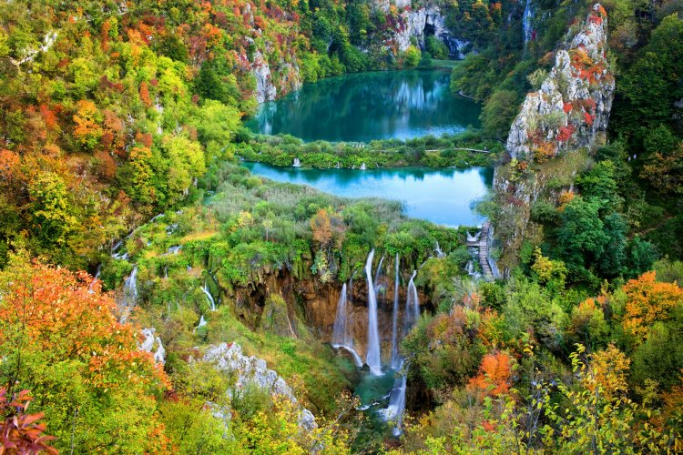 Fall can be the best time to travel to Croatia with the beautiful foliage and fewer crowds.