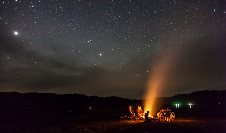 Acadia National Park Night Sky Festival in September.