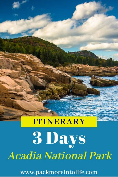 Looking for the best way to spend 3 days in Bar Harbor and Acadia National Park? See the best of Maine's coast with this great itinerary with tons of insider tips to make the most of your vacation. #nationalpark #acadia #northeast #familyvacation #outdooradventures