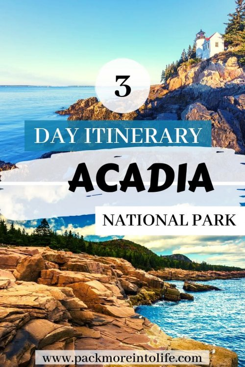 Planning a vacation to Bar Harbor, Maine? Acadia National Park is one of our favorite national parks in New England. I'll share all my tips on the best Acadia National Park attractions in my 3 day itinerary for Acadia National Park. #AcadiaNationalPark #travel #Maine #NewEngland #FamilyVacation