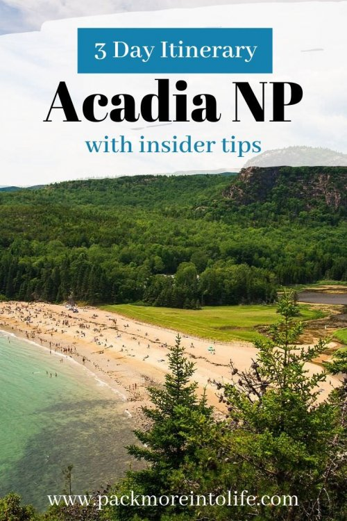 Planning a trip to Acadia National Park? Discover the best places to see and go for a short trip to this beautiful park in Maine with this 3 day itinerary! I'll share all my secrets on where to eat too! #travel #acadianationalpark #acadia #nationalparks #newengland