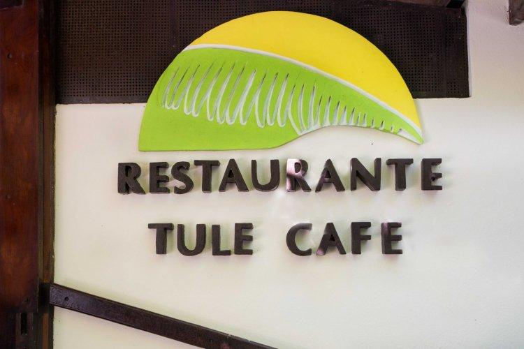 Tulemar Restaurant: Tule Cafe entrance sign