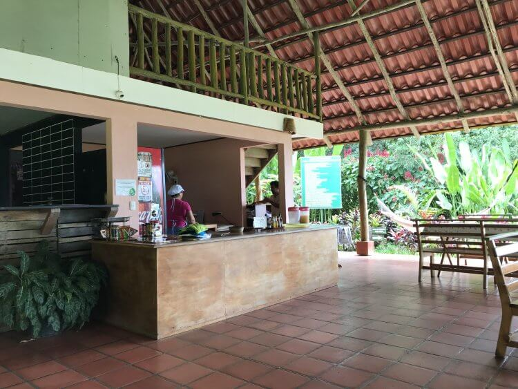Rainmaker Conservation Project Cafe located in Rainmaker Park serves up an affordable lunch of casados.
