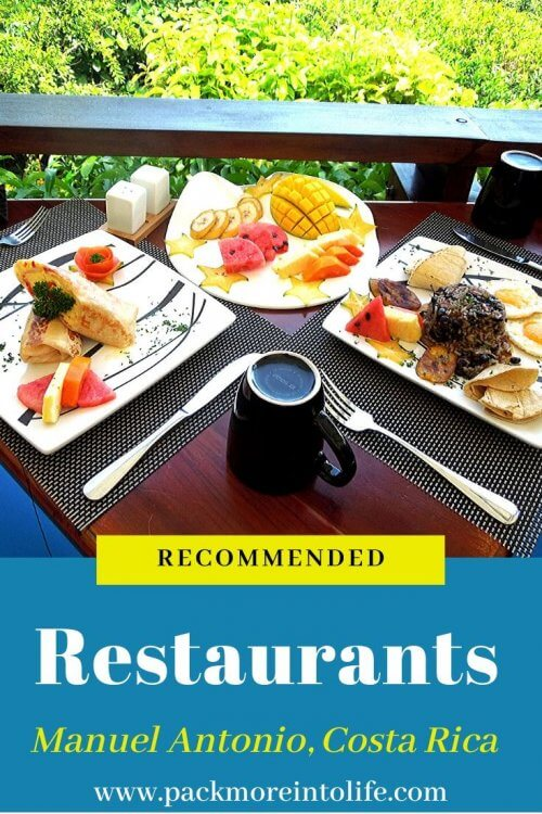 Choose a restaurant near Manuel Antonio is no small task with 100's of restaurants to choose from. I'll share personal recommendations from Manuel Antonio restaurants that we have visited and share our favorite dishes. Learn about some of the great choices with this restaurant guide. #ManuelAntonio #CostaRica #restaurants #foodie