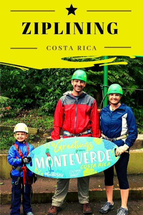 Looking for the best zip line in Monteverde? Check out Sky Adventures Monteverde in Costa Rica. Fly high over the cloud forest while enjoying speeds of up to 60 mph. I'll share all the best tips to make sure you have a great time ziplining in Costa Rica. #travel #zipline #costarica #ecotourism #centralamerica