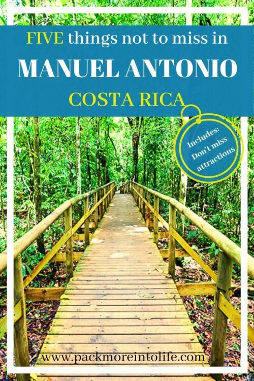 5 Best Things to do in Manuel Antonio | This guide is the perfect mix of relaxation, culture, and adventure. Use this to build your perfect Costa Rica Family Vacation from a family who has traveled to Manuel Antonio with Kids | #costarica #manuelantonio #thingstodo #travel