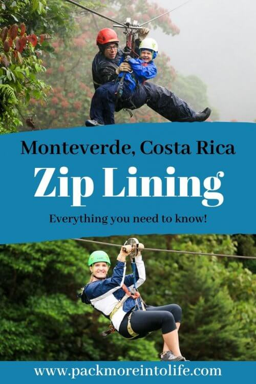 Is zip lining on your bucket list during your trip to Costa Rica? Check out Sky Adventures in Monteverde, one of the best companies in Costa Rica for ziplining. Soar high above the cloud forest as you enjoy the views below. Other activities also include tree climbing, hanging bridges, wildlife viewing and more! Check out Sky Adventures for your trip to Costa Rica. #travel #costarica #puravida #zipline #travelwithkids #cloudforest