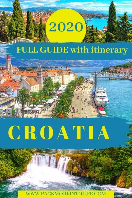 Here is a 10-day Croatia itinerary with the best travel tips for Croatia – things to do, where to go and what to see plus tips like how to get around, where to stay and more tips. | Croatia Itinerary | Croatia Travel | Croatia Things to Do | Croatia Guide | Croatia Travel Guide | #Croatia #travel #croatiaitinerary