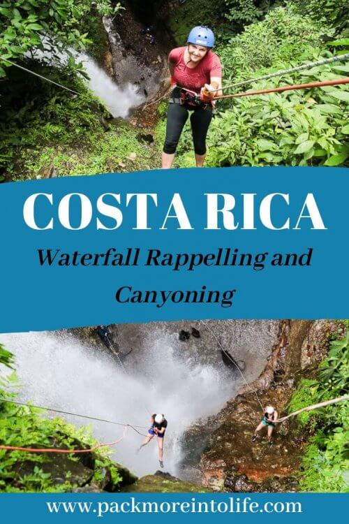 Ready for an adventure? Book a canyoning trip in Costa Rica with Pure Trek Canyoning. Waterfall rappelling in Costa Rica will be the highlight of your trip. Canyoning Arenal Costa Rica | Pure Rrek Canyoning Arenal | #travel #costarica #waterfallrappelling #canyoning