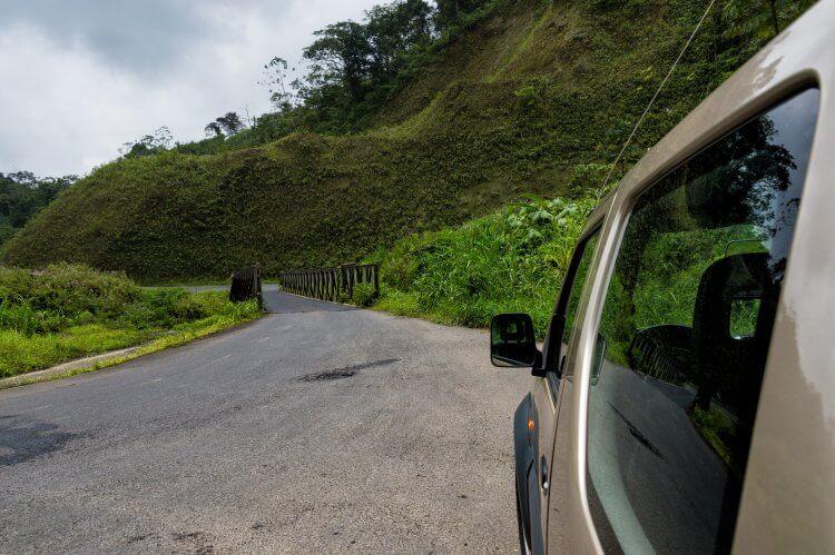 Car Rental Costa Rica: Car in Costa Rica Countryside