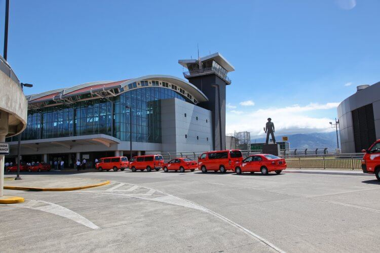 San Jose Airport Costa Rica. The start of your Costa Rica travel itinerary 10 days.