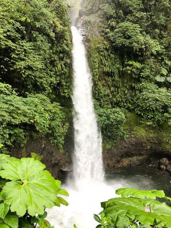 La Paz Waterfall located near the Peace Lodge in Costa Rica