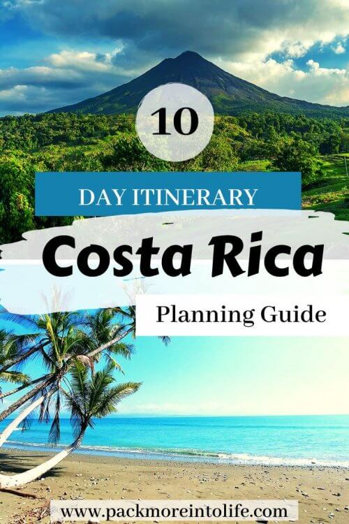 Planning a trip to Costa Rica? This is our suggested Costa Rica itinerary: 10 days of beaches, waterfalls and rainforests. Covering the regions of Manuel Antonio, Monteverde, La Fortuna/Arenal and San Jose, you'll get to see the wide variety of wildlife, regions and activities. Don't miss the interactive map, accommodation recommendations and the best things to do in Costa Rica. |Costa Rica Travel | Costa Rica Vacation | Free Costa Rica Packing List | Costa Rica Itinerary two weeks | #costarica #travelwithkids #outdooradventure #costaricaitinerary #costaricaexperts #centralamerica
