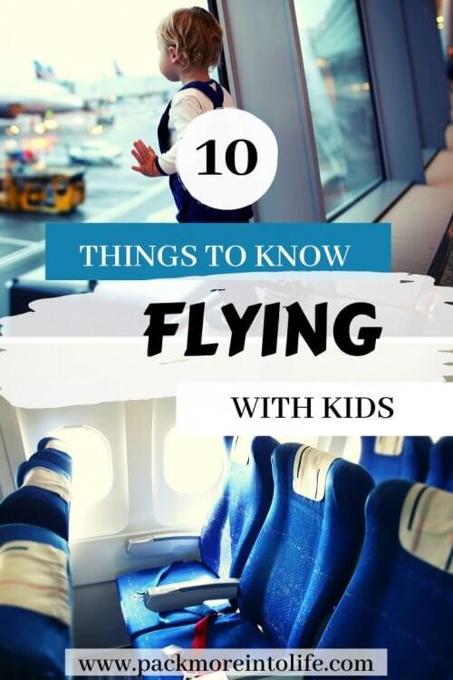 Flying with kids for the first time? Looking for tips for long flights? Avoid these top 10 mistakes so that you and you kids will fly like experts. From carry on packing lists to activities, these hacks and tips will help you have a successful trip. Flying with Kids doesn't have to be stressful, it can be painless and fun if you properly prepare. | Flying with kids | flying with kids for the first time | flying with kids packing list | flying with kids hacks | flying with kids activities | flying with kids international | first time flying tips kids | flying tips for kids |