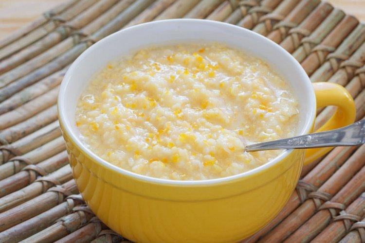 Corn soup, a chinese dish.