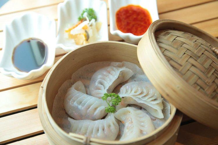 Chinese dumplings.