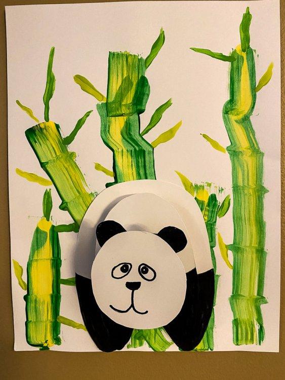 Panda craft complete.