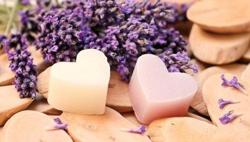 Lavender soaps.