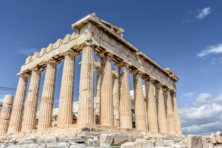 Photo of the Acropolis in Athens Greece