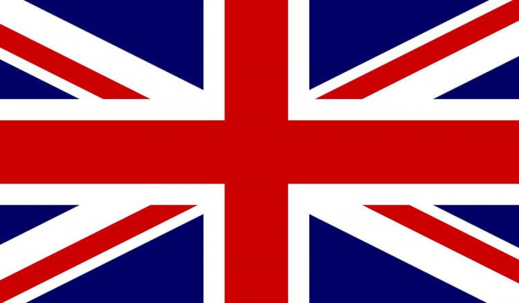 Clip art of a British flag.