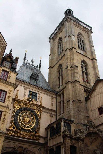 LE GROS-HORLOGE astronomical clock in rouen, France