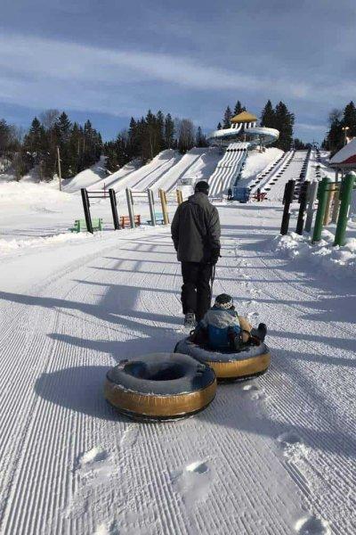 Village Vacances Valcartier Quebec, Canada snow tubing park