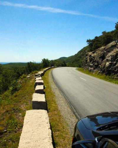 Loop Road in Acadia National Park
