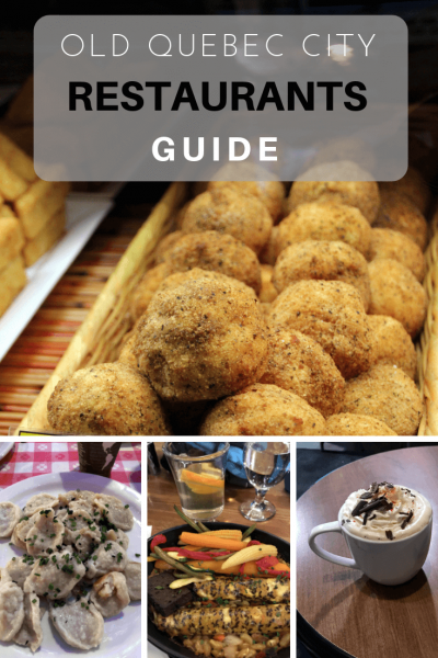 Quebec Restaurant Guide